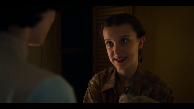 Eleven and Mike 'I love you too' [Stranger Things 3x08]