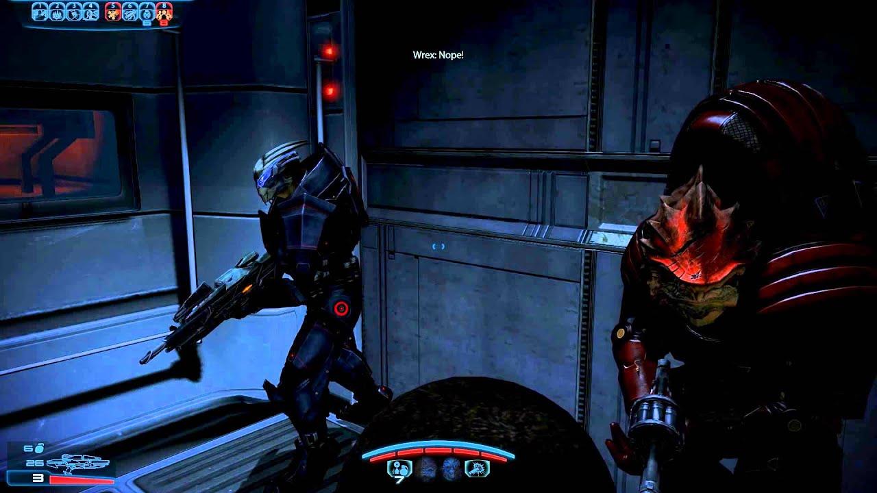 Mass Effect 3 Citadel DLC: Garrus misses ME1 elevator conversations