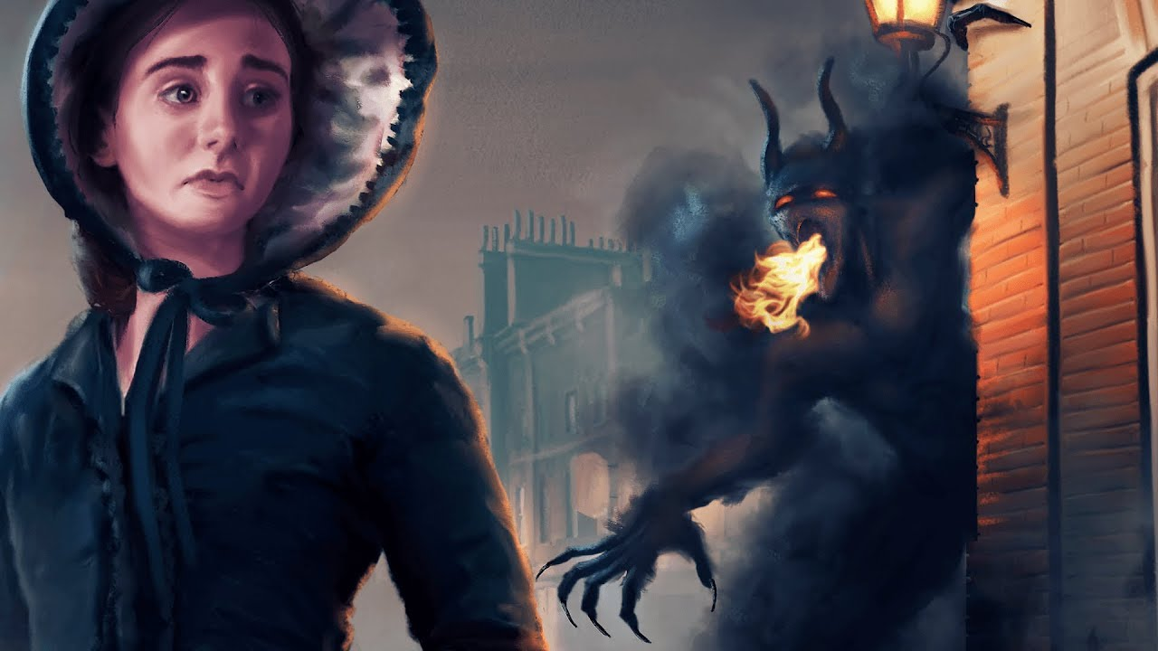 Spring Heeled Jack: The Demon Terror of London (Victorian Folklore Explained)