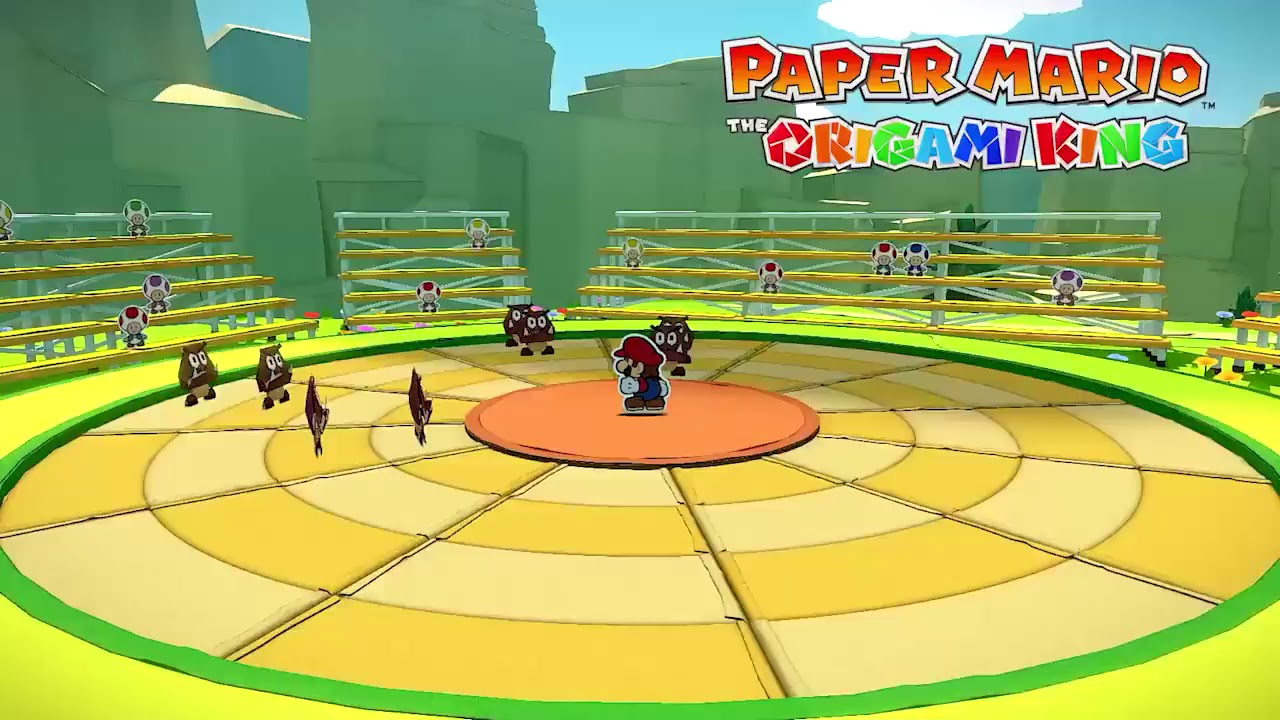 Paper Mario: The Origami King - Red Streamer Battle theme