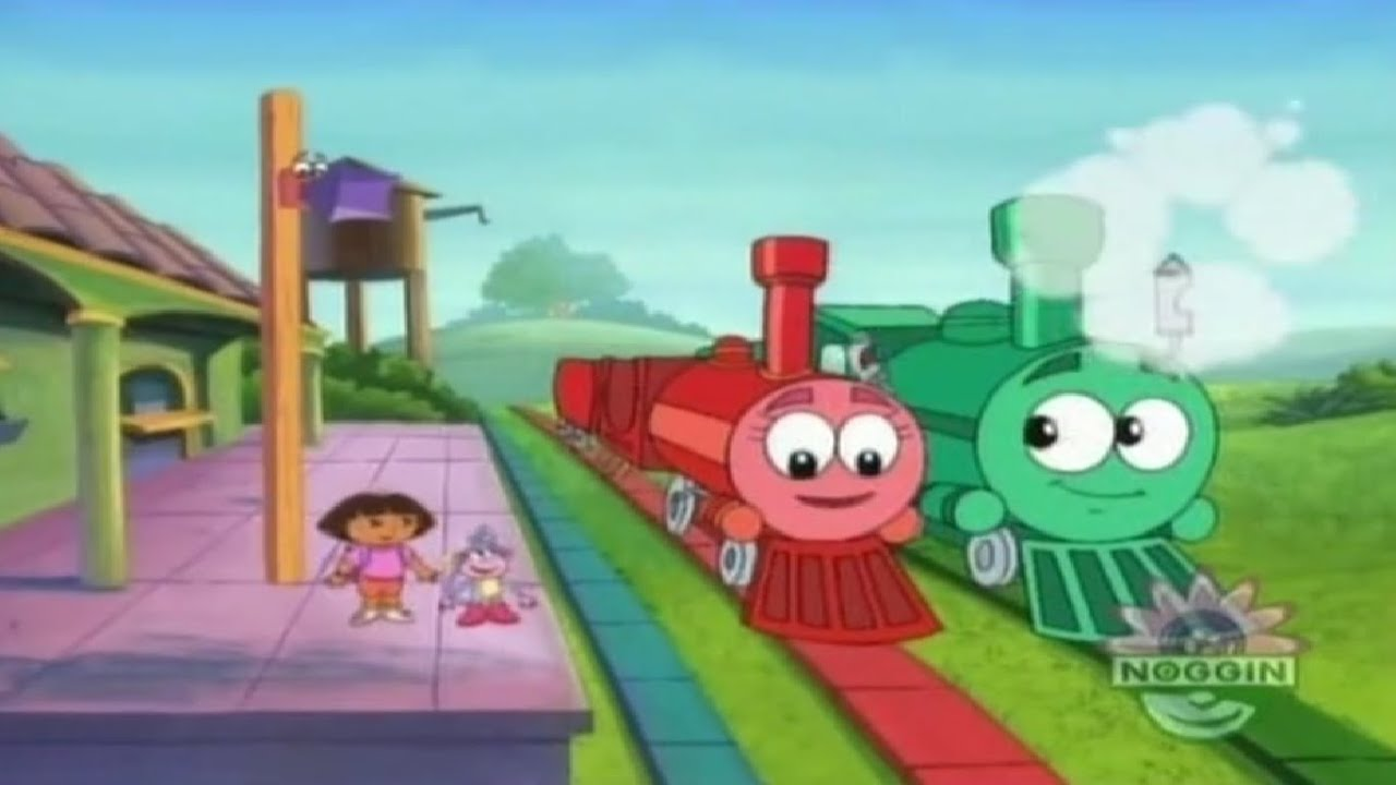 The Big Red Train - (Blowing her whistle) Choo-choo!