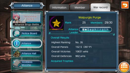 星★Walpurgis Purge