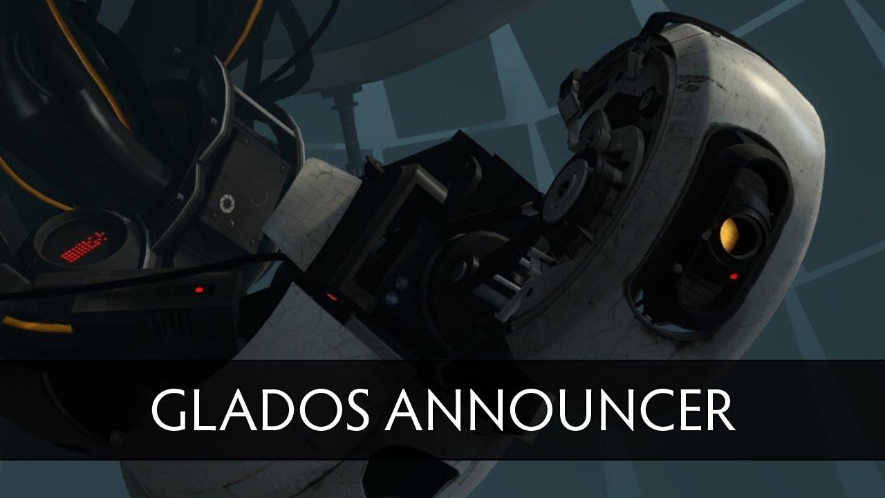 Dota 2 Glados Announcer Pack