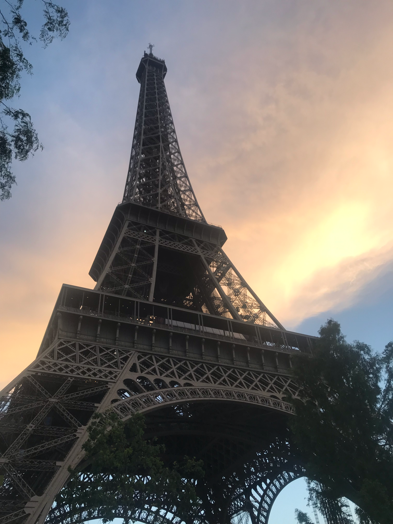 I was recently in France and I got this picture of the Eiffel Tower
