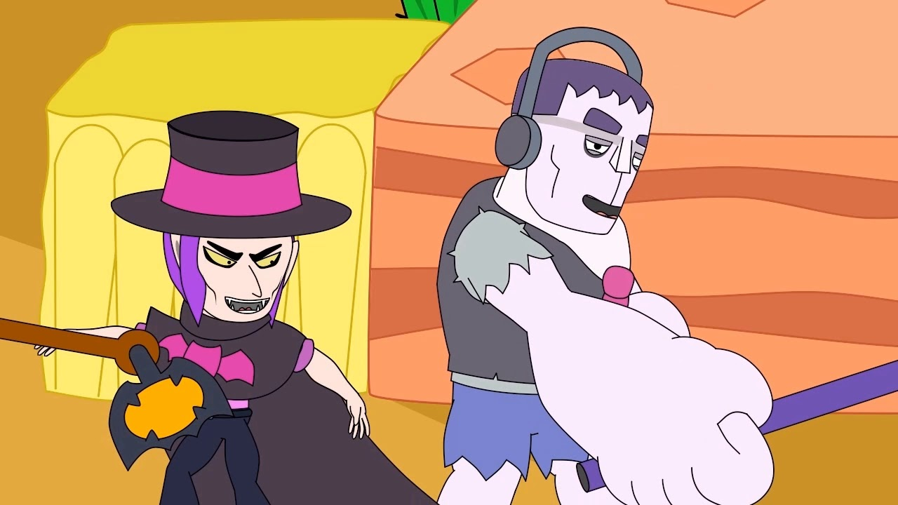 Frank vs Mortis - Brawl Stars Animation #4