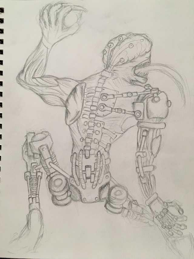 Sketch done by a rando