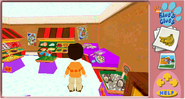 3D Blues Clues Grocery Store