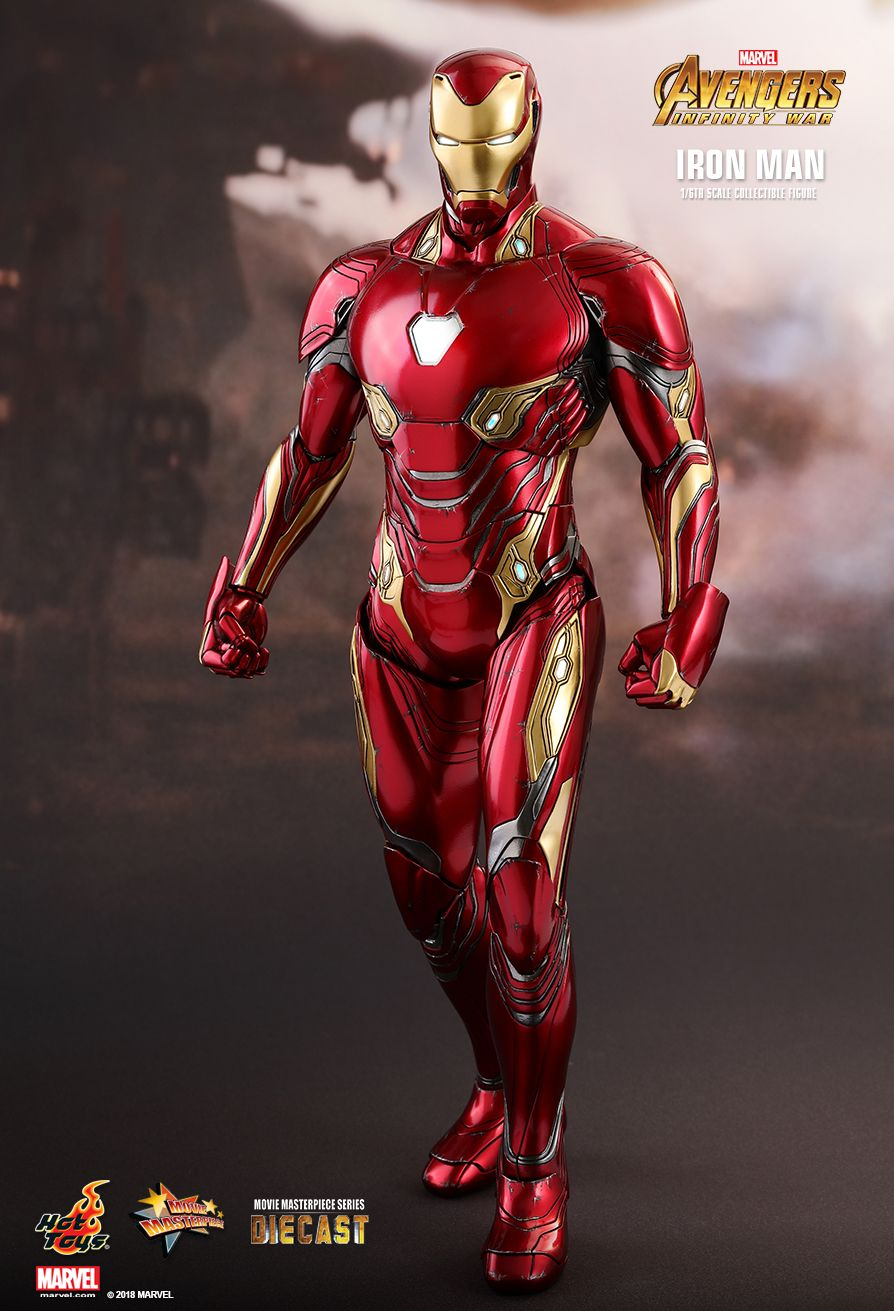 Hot Toys shows us details of Tony's new suit in Infinity War