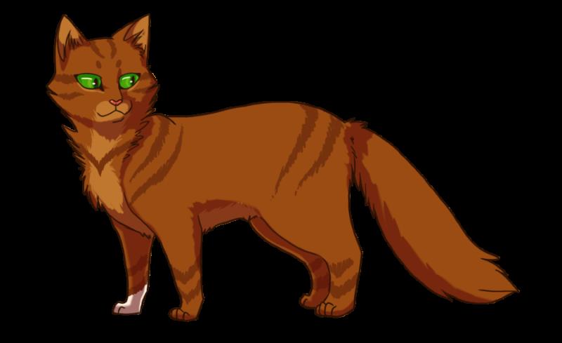 Сайт огнегривки по котам воителям