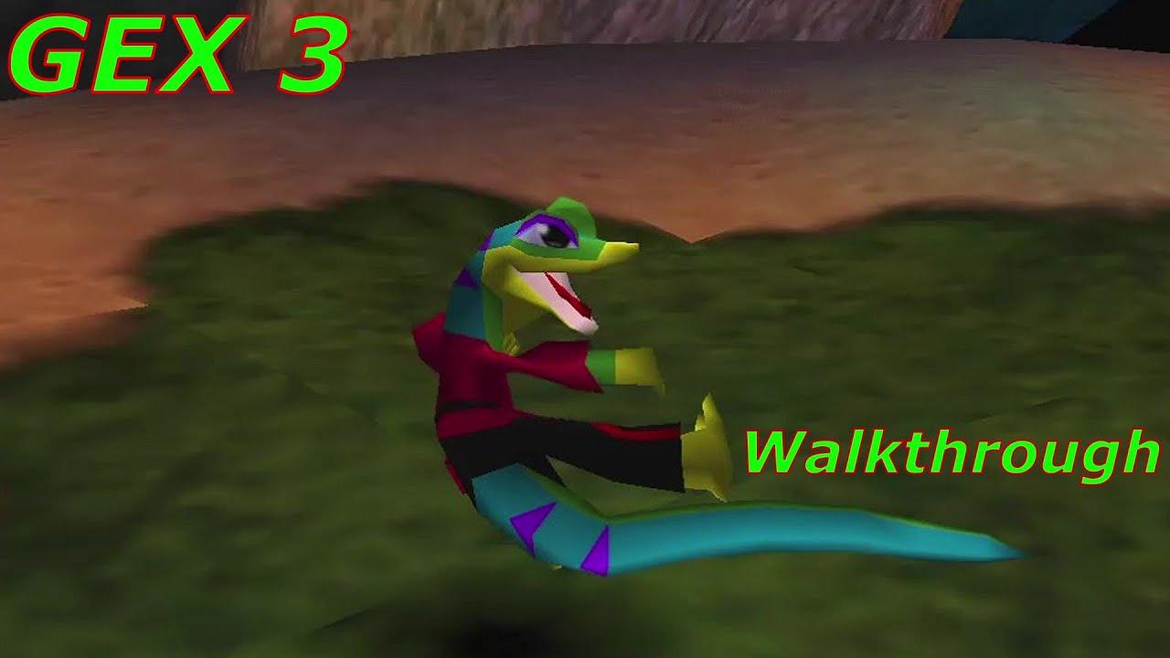 Gex 3 Walkthrough HD [No deaths]