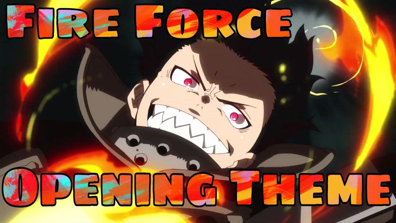 "Enen no Shouboutai OP / Opening // Fire Force OP HD - ""Inferno"" [Mrs.GREEN APPLE]"