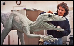 Deinonychus and creator.jpg