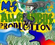 MS- Allosaurus Productions Logo