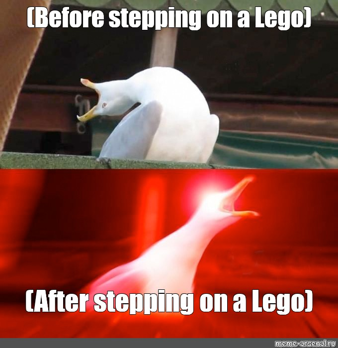 when you step on a lego(credits to radiantuser) | Fandom