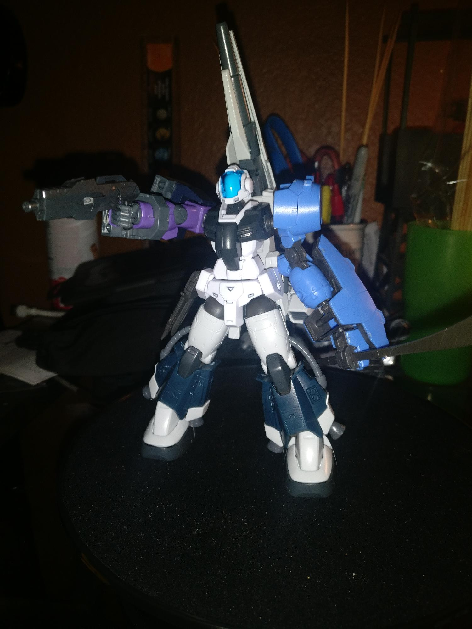 Opinions on my first custom gunpla