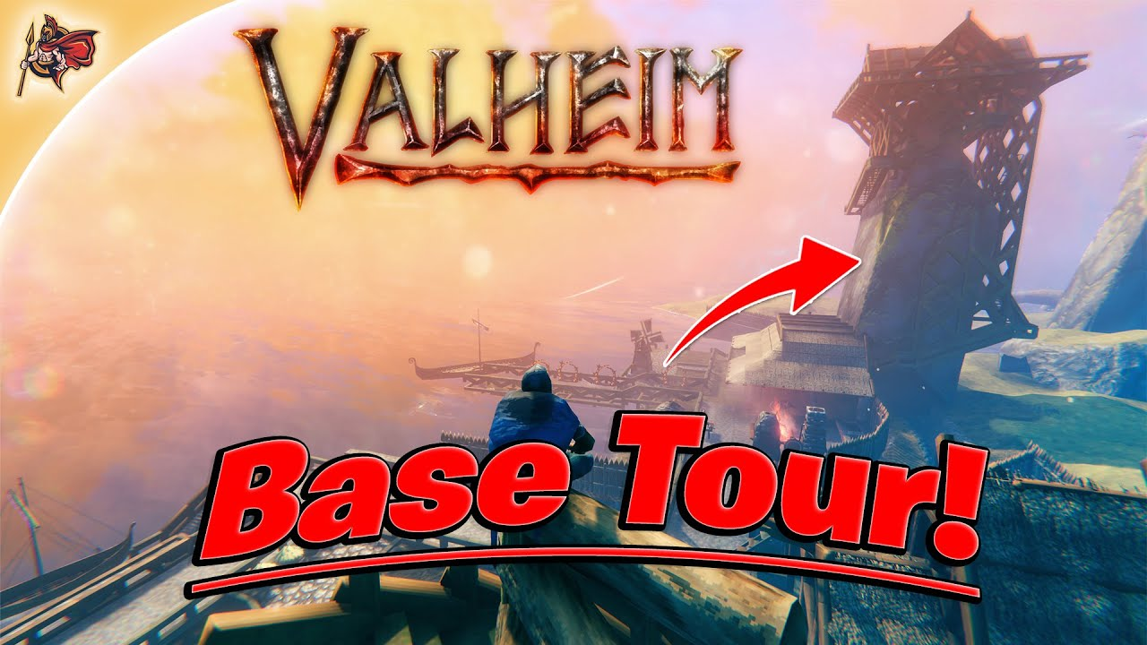 Valheim - Base Tour! + New Series Reveal! (Gameplay + Walkthrough)