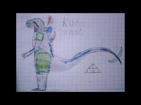 Kuai Shang, mi kaiju propio creado por mí (leer descripción)