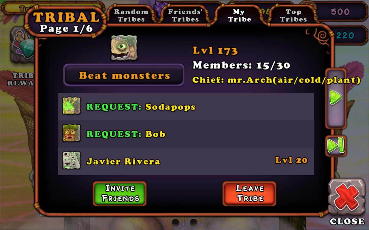 Guys pls change your monsters