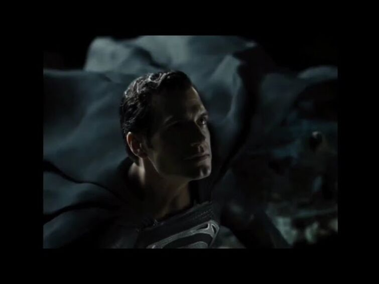 Black Superman First fly Scene || Justice League Snyder's Cut