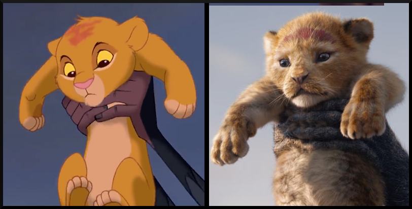 Simba from The Lion King- Then vs. Now, which character's appearance do you prefer?