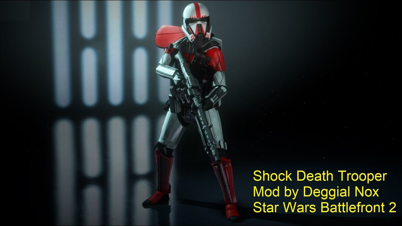 Shock Death Trooper Mod Star Wars Battlefront 2
