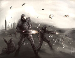 Karianos en combate