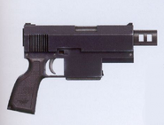 Pistola modelo Hellhest M37