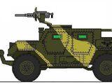 Vehículo todo terreno de apoyo y reconocimiento Uro M38