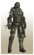 Servoarmadura ligera ''Templar''