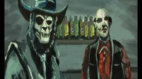 """Ghoultown """"Drink With The Living Dead"""""""
