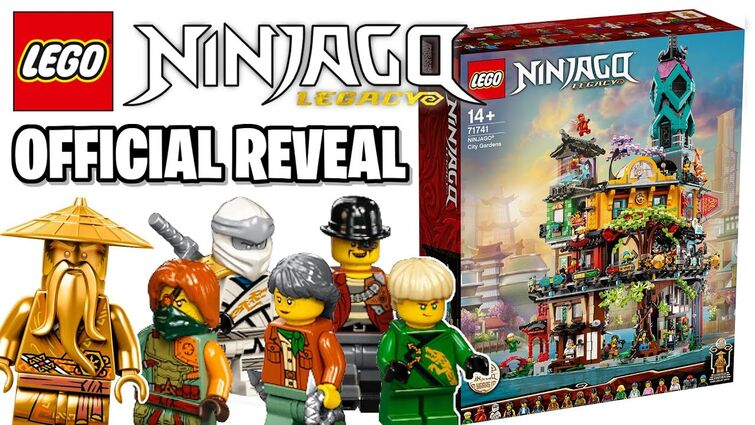 LEGO Ninjago City Gardens OFFICIALLY Reveal