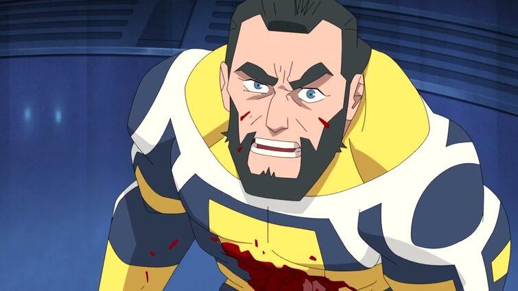 Invincible episode 1   Omni-man kills The Guardians of The Globe