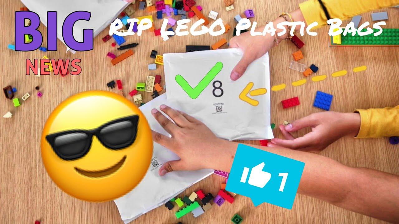 ALB News/ RIP Lego Plastic Bags! NEW Lego Paper Bags!?!