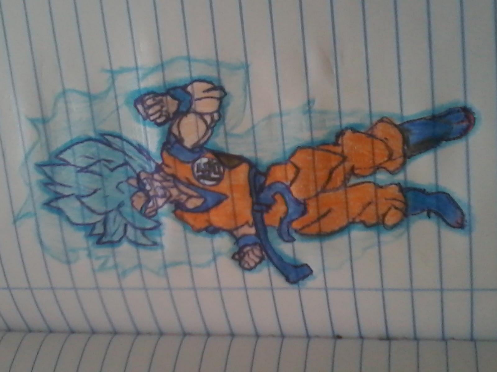 O desenho que meu pai fez para min
