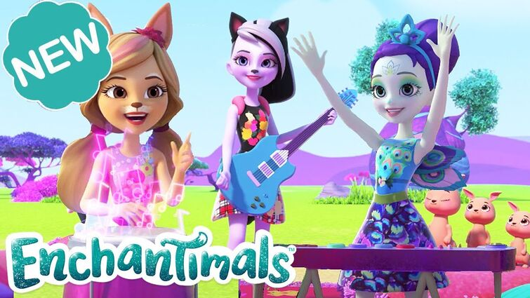 🍭 SING AND SPARKLE TO THE BEAT! ✨ | Welcome to Sunny Savanna! Episode 6 | @Enchantimals
