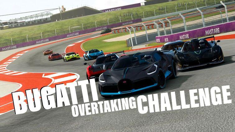 Bugatti Overtaking Challenge (Top 5 Options)