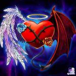 Half korrupted heart