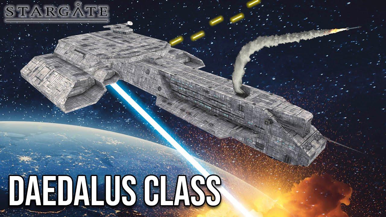 STARGATE Ships Explained: DAEDALUS CLASS Battlecruiser