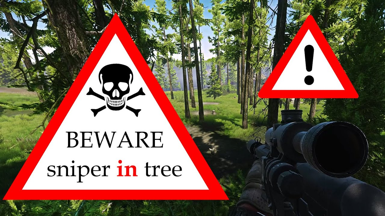 Camping in the tree spot on Woods - EFT Highlights - Escape from Tarkov