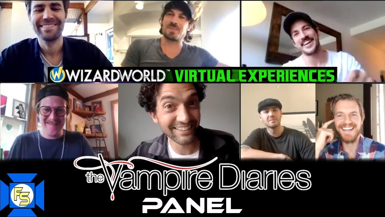 VAMPIRE DIARIES Panel – Wizard World Virtual Experiences 2020