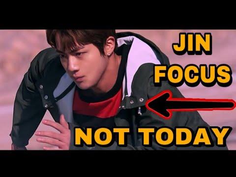 Focus Jin in NOT TODAY MV