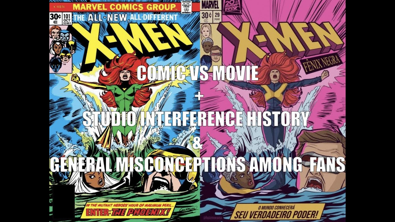 Dark Phoenix: Comic vs Movie Version Part 1