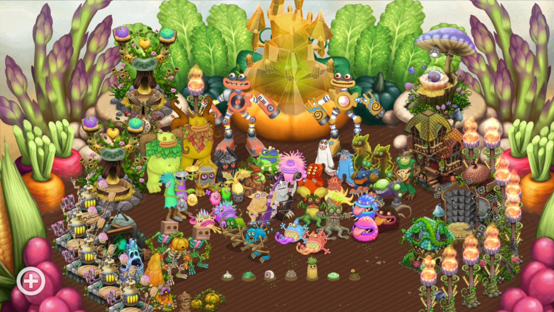 Vegetal Plant Island