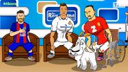 Goat Zlatan Ronaldo Messi