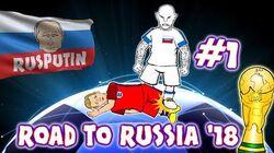 Road to Russia 2018! 1 (Slovakia vs England 0-1, Malta vs Scotland 1-5 , Kazakhstan 2-2 Poland)
