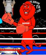 Middlesbrough mascot lion