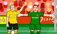 Akinfeev red card