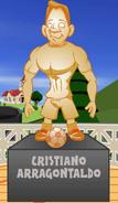 Crisitano Arrogantaldo Statue