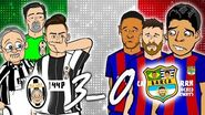 Juve 3- barca cover