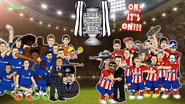 Chelsea Atletico Madrid war Diego
